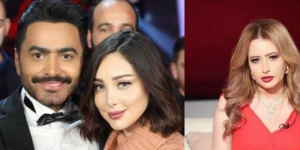 """مي العيدان تشمت بعد انفصال تامر حسني وبسمة بوسيل: """"ما بني على باطل فهو باطل"""""""