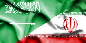 علم السعودية وإيران