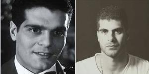 عمر الشريف وأحمد حسنين