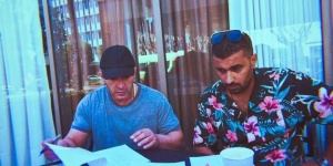 صور| أحمد السقا مع محمد سامي.. هل يجمعهما عمل جديد؟