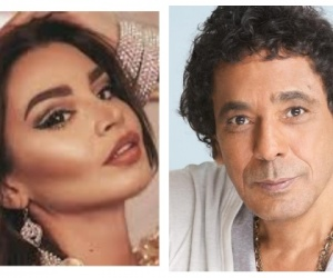 محمد منير يثير الجدل بظهوره مع راقصة.. صورة